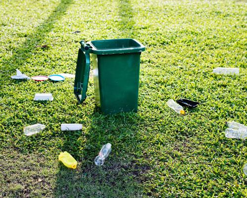 Plastic Bottles Rubbish