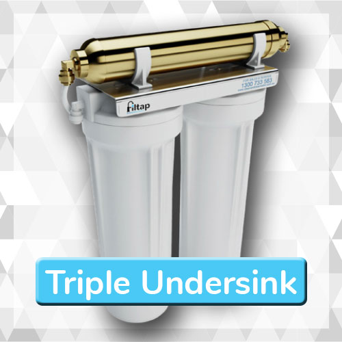 Triple Undersink